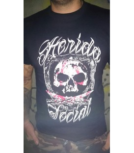 Camiseta Chica Herida Social