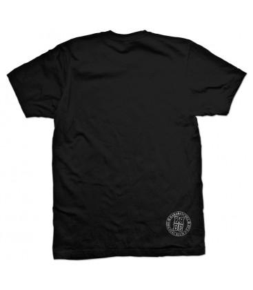 Camiseta Karabanchel University Negra - SlumWear