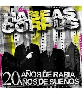 Habeas Corpus - 20 años de rabia 20 años de sueños - CD