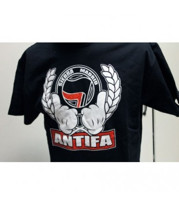 Camiseta Chica Sierra Madrid Antifa - FREELIFE