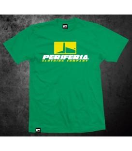 Camiseta Logo Periferia Verde - PERIFERIA