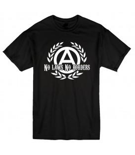 Camiseta No Laws No Borders - FREELIFE