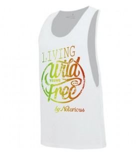 Camiseta Live your life Negra - Notoriuos