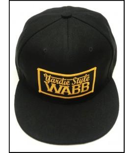 Gorra snapback black - WABB
