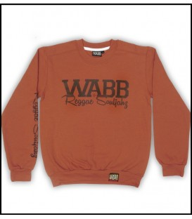 Sudadera Light weight texas orange - WABB