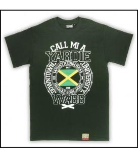 Camiseta Call mi a yardie verde - WABB
