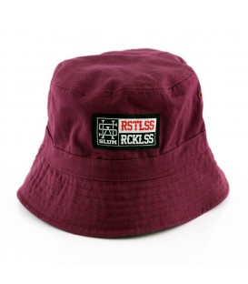 Bucket Burdeos Gris Reversible - Slum Wear