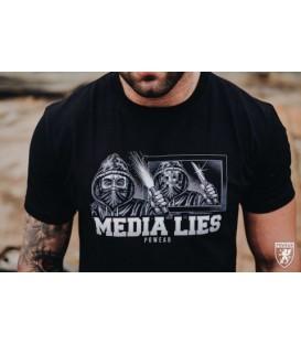 Camiseta T-shirt Media Lies - PG WEAR