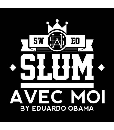 CAMISETA AVEC MOI BARCELONA – EDUARDO OBAMA SLUM WEAR