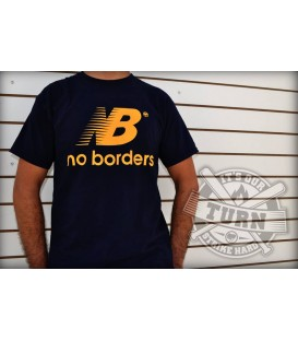 Camiseta No Borders Azul - ITS OUR TURN