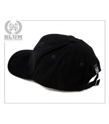 Gorra Negra Logo - Slum Wear