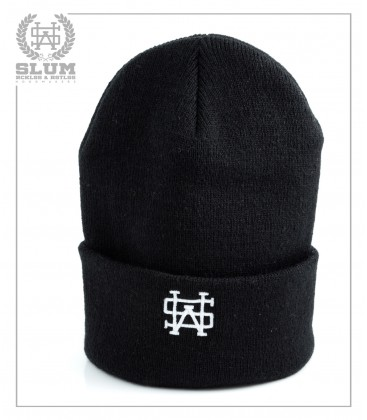 GORRO LONG BEANIE NEGRO - Slum Wear