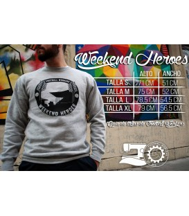 Sudadera Weekend Heroes - FOOTBALL WORKERS