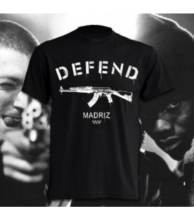 Camiseta Defent Madriz - Madriz Warriors