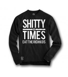 SUDADERA SHITTY TIMES - SLUM WEAR