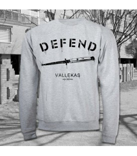 Sudadera Defent Vallekas - Madriz Warriors