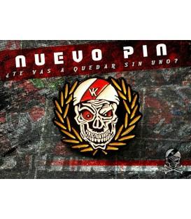 Pin  Logo Calavera - Bukaneros