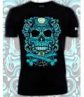 Camiseta Chico Con la muerte de tu lado Azul - CHEVRAND