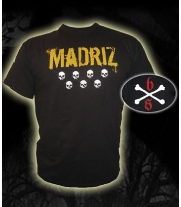 Camiseta Madriz Negra - Bloodsheds