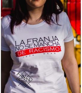 Camiseta La franja no se mancha de racismo - VCN