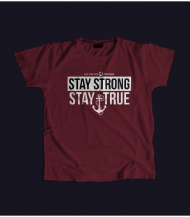 Camiseta Chica Stay Strong Stay True - LOVE YOUR CREW