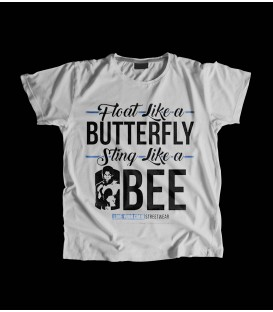Camiseta Chica Float like a butterfly sting like a bee - LOVE YOUR CREW