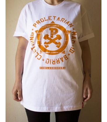 Camiseta PRLTRN-CH Circulo Blanca - Proletarian Clothing