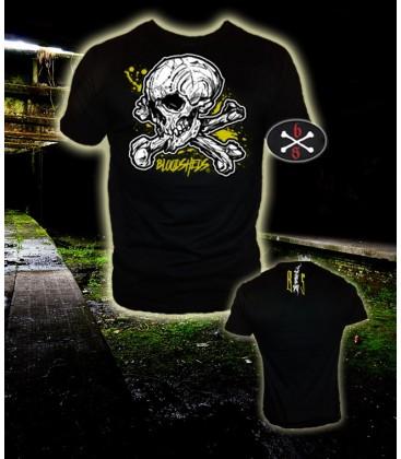 Camiseta Logo Calavera - Bloosheds