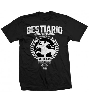 Camiseta Bestiario Shop Negra - WE RESIST