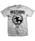 Camiseta Bestiario Shop Blanca - WE RESIST