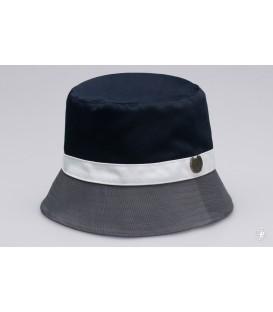 Bucket Hat Wanderer Navy/Grey - PgWear