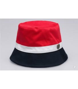 Bucket Hat Wanderer Navy/Red - PgWear