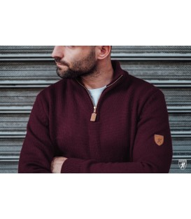 Sweater Regular Maroon - PG WEAR