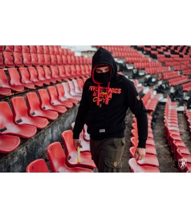 Sudadera Full Face Hoodie Pyromaniac - PG WEAR