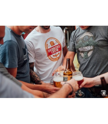 Camiseta Drinkers' Crew - PG WEAR