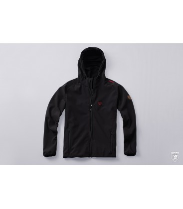 Full Face Softshell Jacket Offensive Black - PG WEAR
