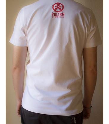 Camiseta Blanca CCCP-100º Aniversario de la Revolución Soviética Hombre - Proletarian Clothing