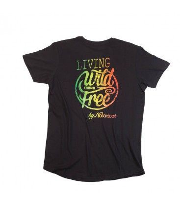 Camiseta Larga Living Wild - Notorious