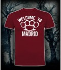Camiseta Welcome To Madrid Granate - Bloodsheds