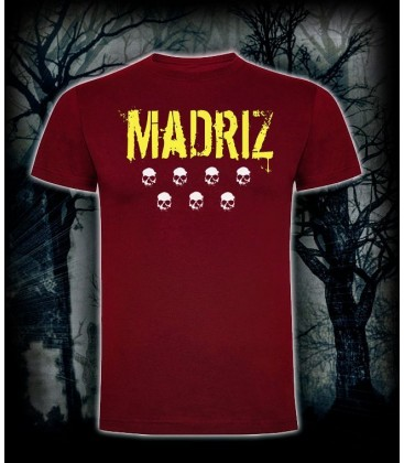 Camiseta Madriz Granate- Bloodsheds