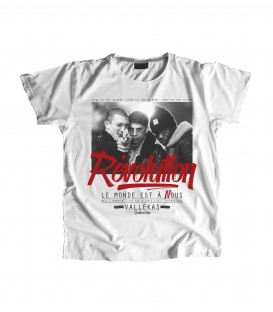 Camiseta Chica Revolution - WE RESIST