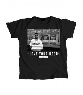 Camiseta Chica Love Your Hood - WE RESIST