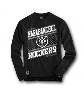 Sudadera Karabanchel Rockers Negra - SlumWear