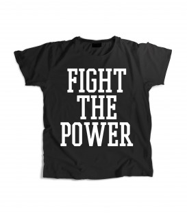 Camiseta Chica Fight The Power - WE RESIST