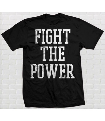 Camiseta Fight The Power - WE RESIST