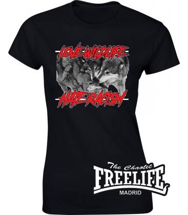 Camiseta Chica Love WildLife - FREELIFE