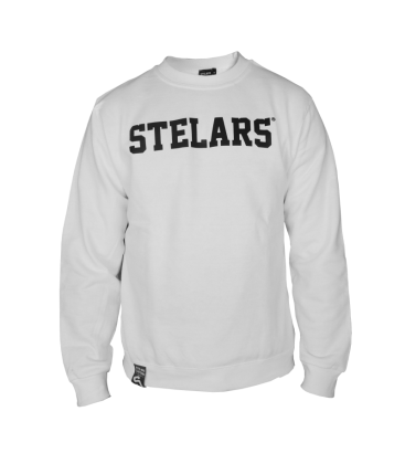 Sudadera Basic Sweatshirt White - Stelars