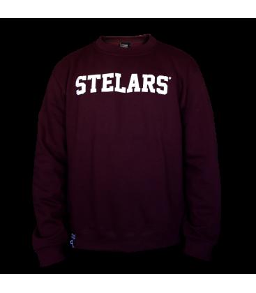 Sudadera Basic Sweatshirt Maroon - Stelars