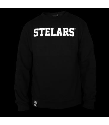 Sudadera Basic Sweatshirt Black- Stelars