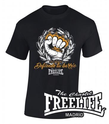 Camiseta defiende tu barrio - FREELIFE